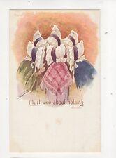 Cynicus Much Ado About Nothing Vintage U/B Postcard 320b