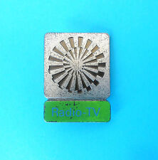 OLYMPIC GAMES MUNICH 1972. - LARGE OFFICIAL PARTICIPANT PIN BADGE ... RADIO - TV