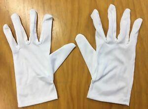 5x WHITE DISPOSABLE GLOVES WORKWEAR SAFETY GLOVE KITCHEN RESTAURANT