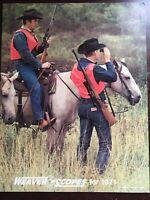 1971 Weaver Scopes Catalog, Rifle Scopes