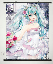 Vocaloid: Hatsune Miku Home Decor Anime Japanese Poster Wall Scroll New 473