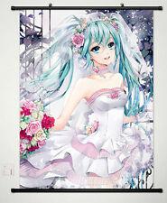 Vocaloid: Hatsune Miku Home Decor Anime Japanese Poster Wall Scroll New 473