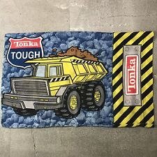 Tonka Cement Mixer Dump Truck Vintage 90s Standard Pillowcase