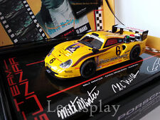 "Slot car SCX Scalextric Fly 96037 Porsche 911 GT1 EVO""Gunnar Racing""Daytona 2003"