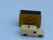 Matchbox 1-75 Vintage Manufacture Diecast Ambulances