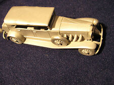 Modell Auto Duesenberg-1934 aus Zinn.Danbury Mint 1/60.Zinnmodell USA Pewter