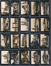 1912 Tuckett C117 British Views Tobacco Cards Complete Set of 100