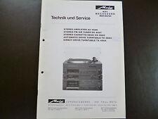 Original Service Manual Metz   AX4980 SX4981 CX4982 TX4983 TX4984