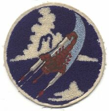 WWII USAAF 312th Fighter Squadron, 338th Fighter Group, 3rd AF Jacket Patch