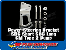 CAL CUSTOM POWER STEERING PUMP BRACKET SBC FOR FITMENT W/GM TYPE 2 P/S PUMP