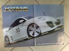 Q63 Poster Volkswagen New Beetle Xtreme Tuning 55 x 40 cm.