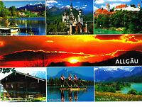 Schönes Allgäu,2012 gelaufene AK