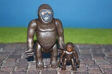 PLAYMOBIL ANIMALES gorila con Bebé Zoo /rittter/Piratas