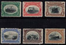 US Scott 294 - 299 Mint Hinged