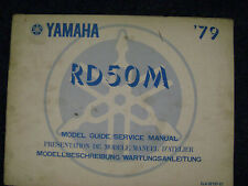 Yamaha RD50 M 1979 Owners Service Manual