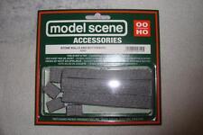 MODELSCENE - OO SCALE - 5090 - STONE WALLS & BUTTRESSES - 7 PER PACK - LOOK !!!