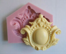 ORNATE CENTER PIECE SILICONE RUBBER MOLD  DECORATIVE MOLDINGS