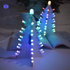 Light Control Full Color LED Big Christmas Tree Tower DIY Electronic Kit ATF