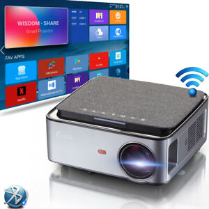 """1080P FULL HD Android Office Projector with 100"""" Screen OfficeSuite Google Play"""