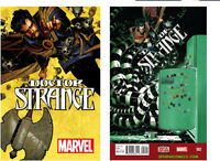 DOCTOR DR. STRANGE #1 & #2 REGULAR COVERS (2015) MARVEL COMICS NM