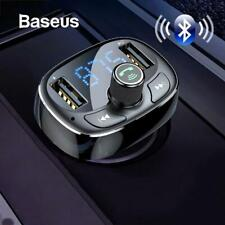 Baseus Car Charger FM Transmitter Modulator Bluetooth Wireless Audio MP3 Player