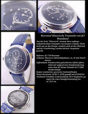 JACQUES CANTANI Ravenna Series Flat Unisex Watch Azure Blue Very Chic NEW