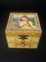 Disney parks Princess Belle Beauty and The Beast Jewelry Music Box musical 1991