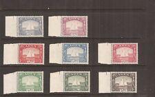 ADEN  1937 Dhows 1/2a - 8a  mh