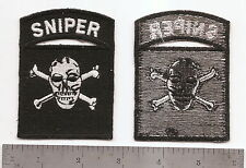#087 US ARMY SPECIAL FORCES BLACK SNIPER PATCH