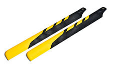 EXI-500 Carbon Fiber Main Rotor Blades for Electric 500 Size RC Helicopter 430mm