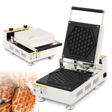 Waffle Griddle Non-Stick Grill Cake Pan Puff Waffle Maker for Individual Waffles