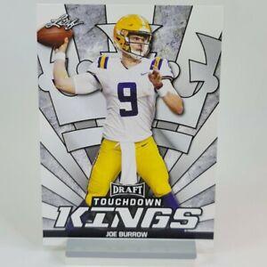 Joe Burrow Leaf Toucdown Kings Draft Rookie RC #85 LSU Bengals NFL Sports Card