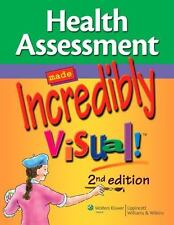 Health Assessment Made Incredibly Visual! (Incredibly Easy! Series), , Good Book