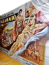 SALAMMBO  ! affiche cinema  geante 240x320cm  peplum 1960 mascii