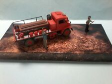 MODIFIED Trux 1/50 Chevrolet Blitz truck with Coffin  on the back and is boxed