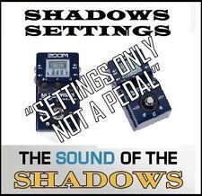 Zoom MULTISTOMP MS-100BT Pedal Arte D'ECHO sonido de Hank MARVIN (sólo configuración)