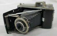 VINTAGE Kodak Tourist 620 Film Camera with original Leather Case Untested