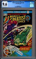 Marvel's Greatest Comics 56 CGC Graded  9.6 NM+ Marvel Comics 1975