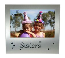 """Sister Photo Picture Frame Birthdays Christmas Gift Idea 6"""" x 4"""" Female Sibling"""