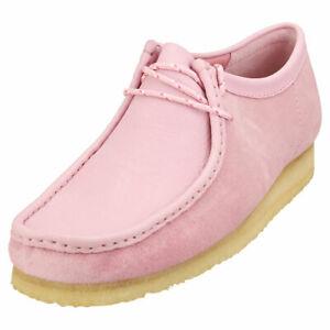 Clarks Originals Wallabee Mens Rose Suede Wallabee Shoes
