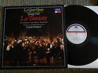 Giuseppe Verdi Die Traviata I LP Vinyl VG + Spanisch Ed Decca 1963-1989