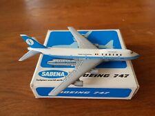 Schabak 1:600 Sabena Boeing 747 OVP Flugzeugmodell