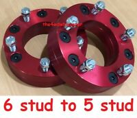 Wheel Hub Adaptors - Toyota 6 stud to 5 stud ideal for tandem trailer conversion