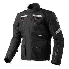 Blousons imperméable noir Rev'it pour motocyclette