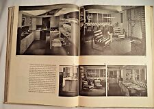 1946 George Nelson TOMORROW'S HOUSE Modern Architecture Book Vintage mid century