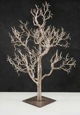 "Size vary between 12 -14"" Potted glittered/Gold  Manzanita Tree's Center pieces"