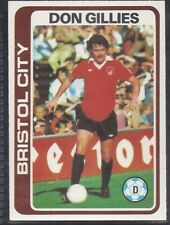SUN-FOOTBALL SWAP CARDS -#116- BRISTOL CITY CHRIS GARLAND M134