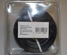 INKA 6275 Lautsprecherkabel 2x0,75qmm 20m OFC Vollkupfer PVC-Mantel Schwarz