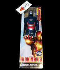 IRON MAN 3 IRON PATRIOT Titan Hero Avengers LOS VENGADORES Marvel Hasbro New