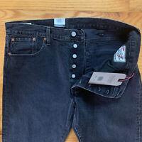 "LEVIS Justin Timberlake Fresh Leaves Mens 38x32 ""501 Slim Taper Jeans"" NEW $98"